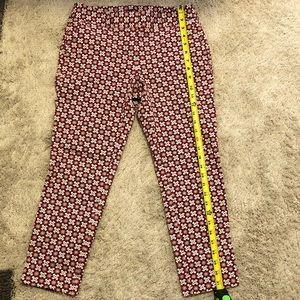 LOFT women's pattern pants